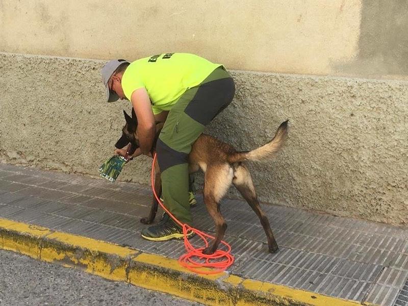 Luís Ángel Caracena - Unidad Canina de Búsqueda y Rescate de Castellón